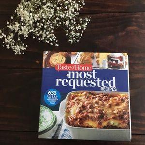 Other - Taste of Home Cookbook